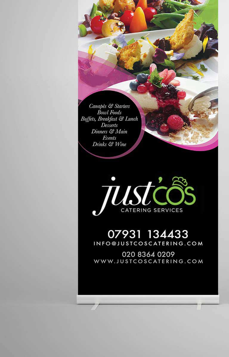 branding - just cos catering